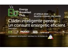 Energy Breakfast Club – Clădiri inteligente pentru un consum energetic eficient